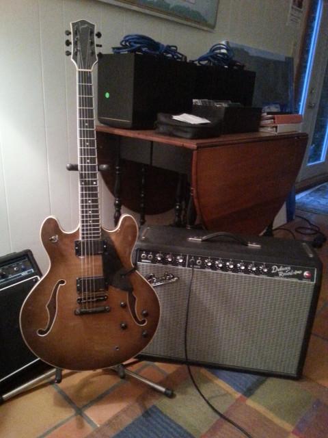 Everett F-85 and Fender Deluxe
