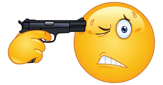 emoticon-pointing-a-gun-on-his-head-369