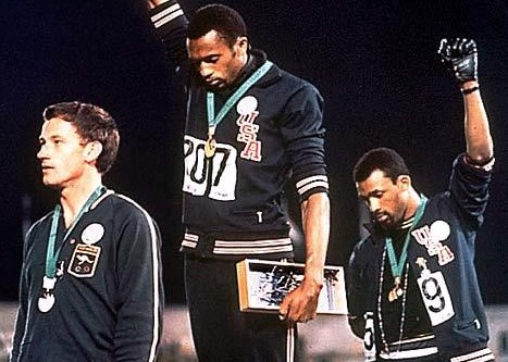 Tommie Smith and John Carlos -- American Patriots